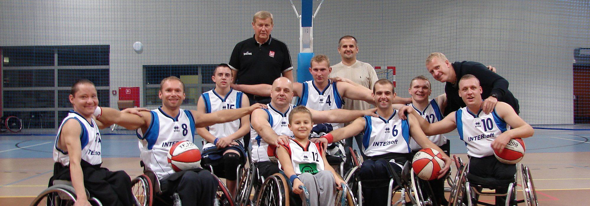 ŁTRSN - koszykarze na wózkach z Łodzi